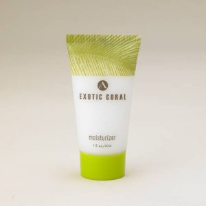 exotic coral moisturizer tube