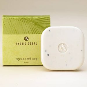 exotic coral bath soap