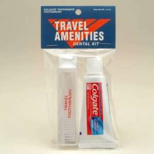travel amenities kit